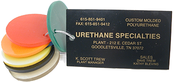 Urethane Specialties - Serving Industry with Custom Molded Polyurethane